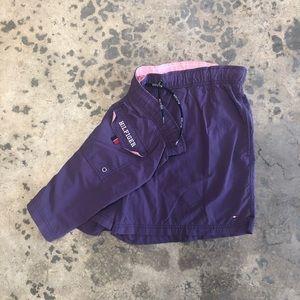 Men's Tommy Hilfiger Purple Pink Swimsuit Trunks L